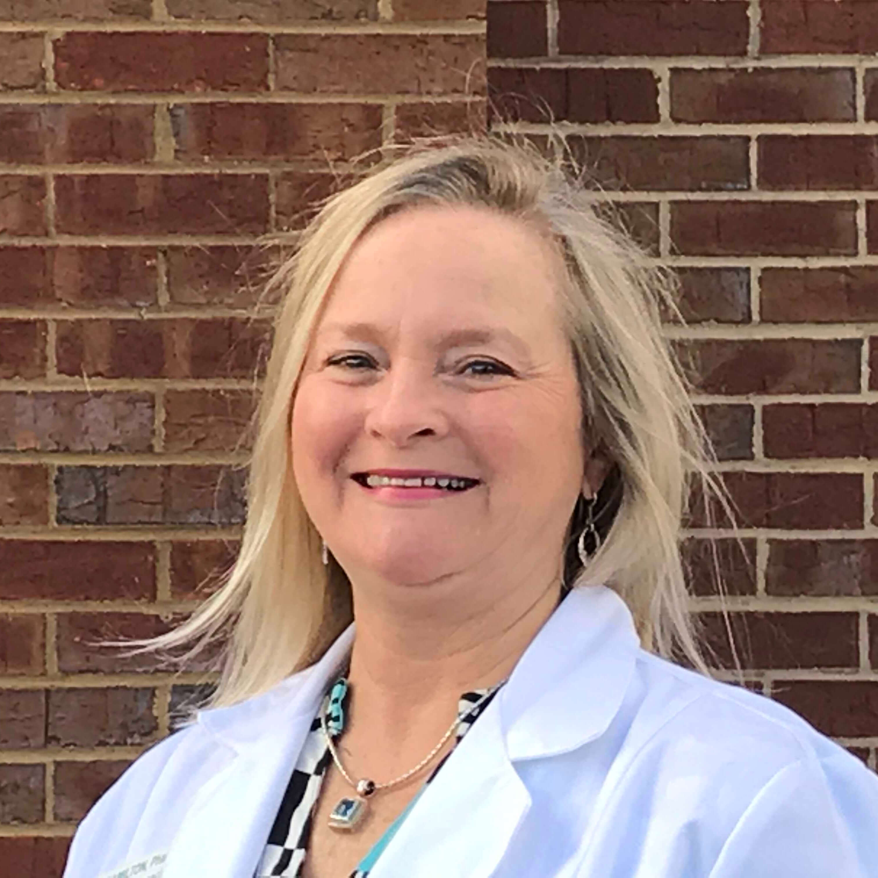 Becky Hamilton received her Pharm. D. from Mercer University Southern School of Pharmacy.  Additionally, she completed an American Pharmacists Association-accredited residency program in Drug Information at Grady Memorial Hospital and Mercer. One can find her at Lacey's Long Term Care Pharmacy as the Drug Information Specialist, and a Consultant Pharmacist. She has practiced pharmacy at Lacey's for over 11 years. Becky loves to go boating, hiking, and generally be outdoors. But, what is most important to her is spending time with her family and friends.
