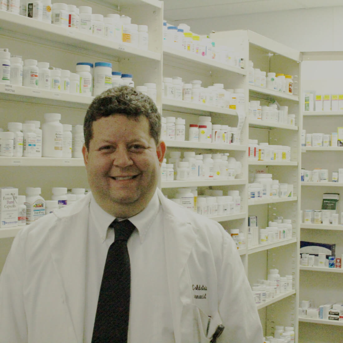 Eric Goldstein graduated from Mercer University's College of Pharmacy with his Doctorate of Pharmacy and is a Compounding Specialist. He's practiced pharmacy with Lacey's for ten years. A fun fact about him is that he played varsity tennis for the University of Montana and started all four years.
